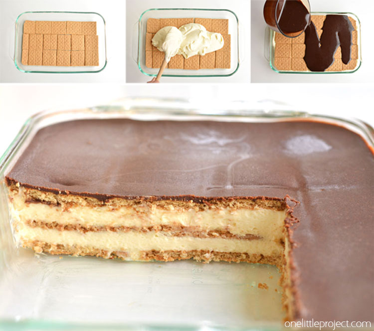 Easy Recipes For No Bake Chocolate Eclair Cake