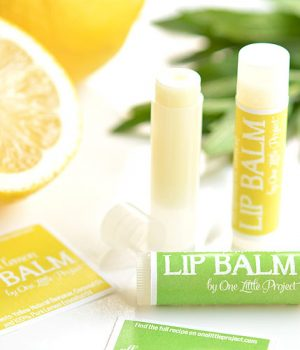 Easy Homemade Lip Balm in 5 Minutes!