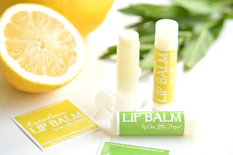 how to make homemade lip balm easy