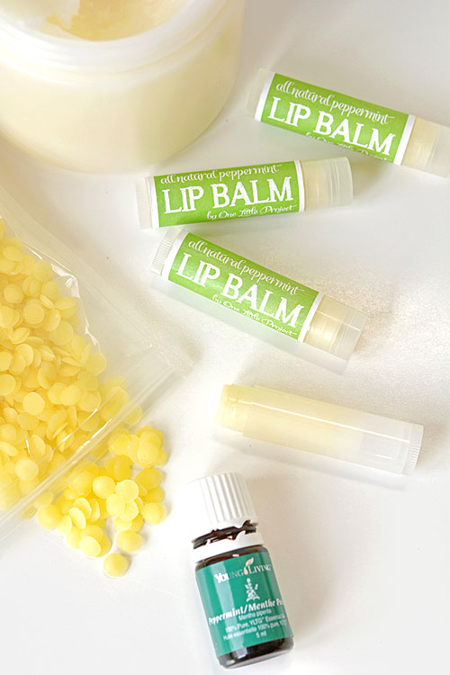 Easy Homemade Lip Balm in 5 Minutes