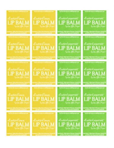 Lip-Balm-Labels