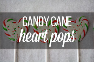 Candy Cane Hearts - The trick is to melt the candy canes in the oven first so they stick together.  If you don't get around to making these at Christmas they are great for Valentine's day too!