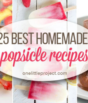 25 Best Homemade Popsicle Recipes