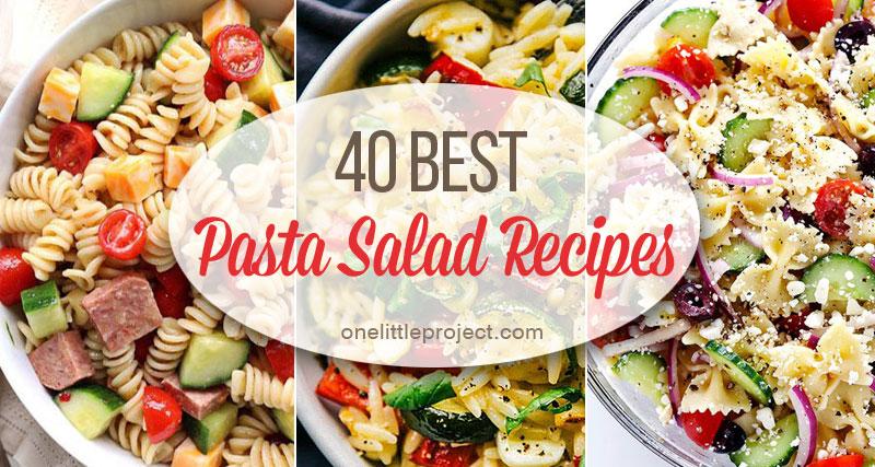 40 Best Images About Nier On Pinterest: 40 Best Pasta Salad Recipes
