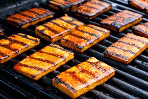 21 Things You Didn't Know You Could Grill - Beer Grilled Tofu
