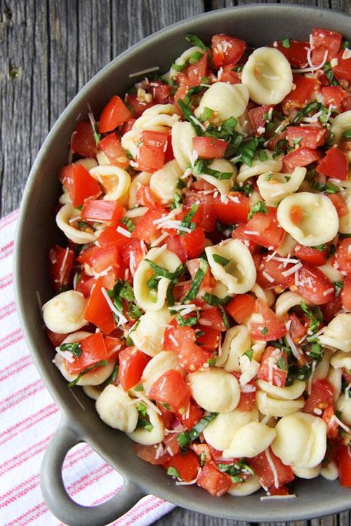 40 Best Pasta Salad Recipes - Brushetta Pasta Salad