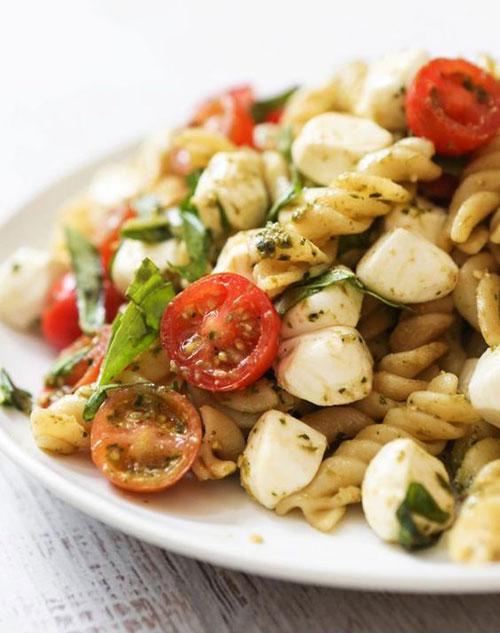 40 Best Pasta Salad Recipes - Caprese Pasta Salad