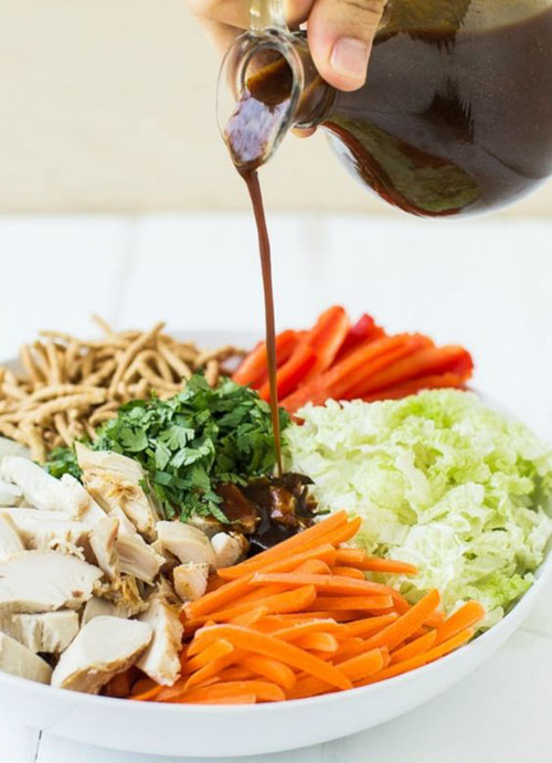 25 Meal Sized Loaded Salads - Chinese Chicken Salad