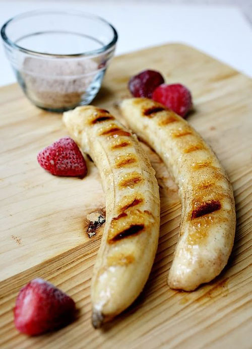 21 Things You Didn't Know You Could Grill - Cinnamon Sugar Grilled Bananas