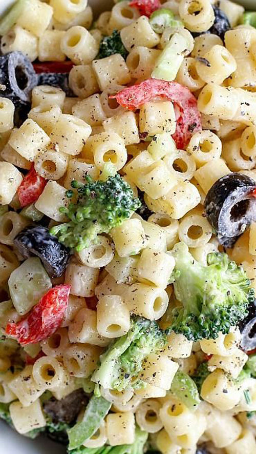 40 Best Pasta Salad Recipes - Creamy Summer Pasta Salad