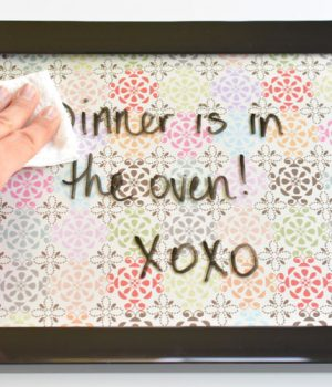 Easy DIY Whiteboards | 5 Minute Dry Erase Board