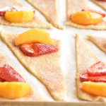 Easy Strawberry Peach Pie Bites Recipe