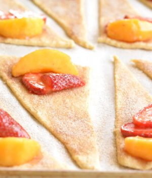 East Strawberry Peach Pie Bites Recipe