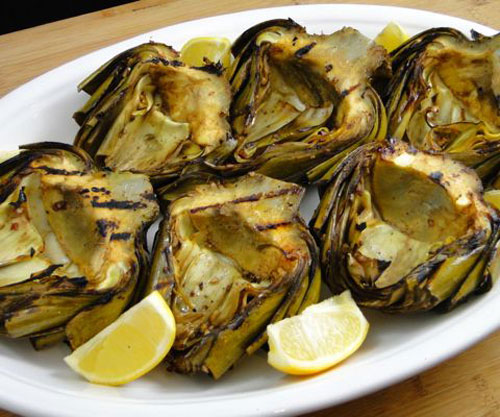 21 Things You Didn't Know You Could Grill - Grilled Artichokes