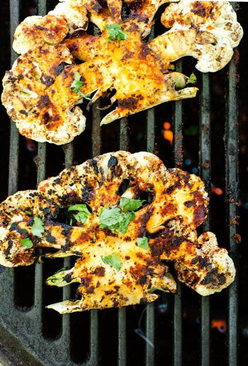 21 Things You Didn't Know You Could Grill - Grilled Chipotle Lime Cauliflower Steaks