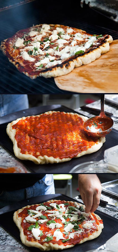 21 Things You Didn't Know You Could Grill - Grilled Pizza
