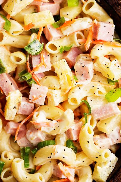 40 Best Pasta Salad Recipes - Hawaiian Macaroni Salad