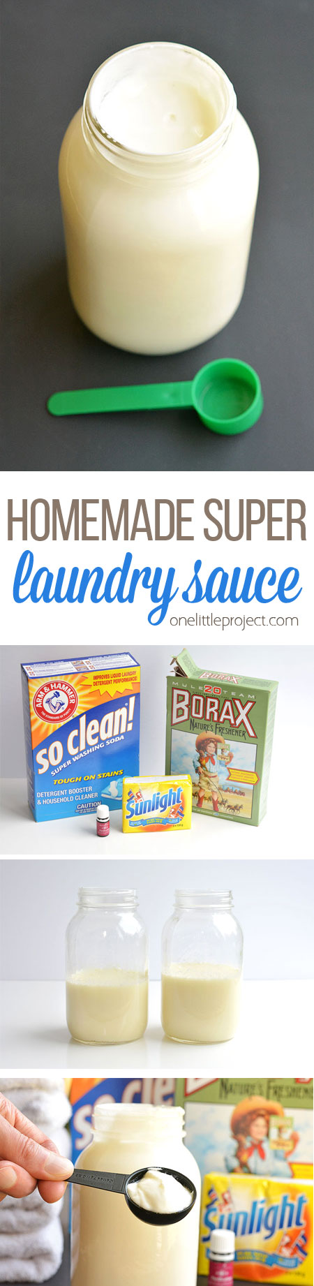 Homemade Super Laundry Sauce | DIY