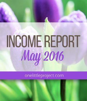Traffic and Income Report: May 2016