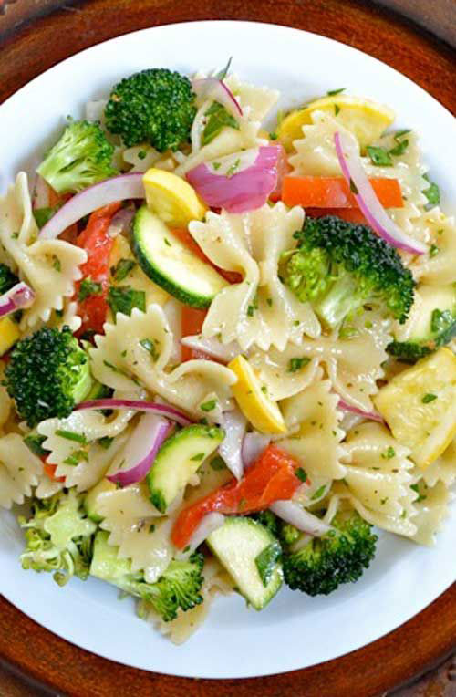 40 Best Pasta Salad Recipes - Summer Vegetable Salad