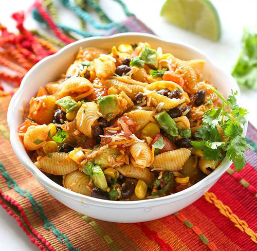 40 Best Pasta Salad Recipes - Taco Pasta Salad