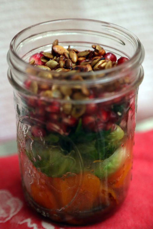 33 Healthy Mason Jar Salads - Ultimate Fall Mason Jar Salad