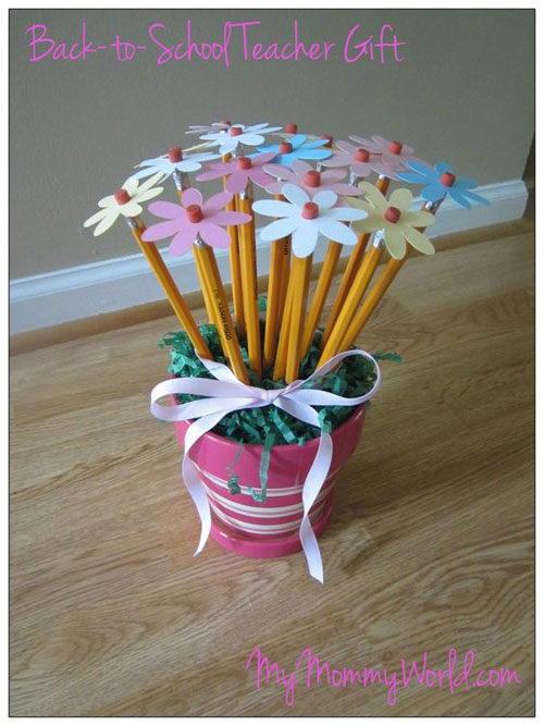 25 Back to School Craft Ideas - Back to School Teacher Gift