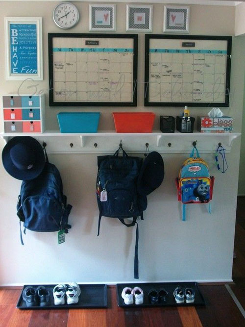 24 Back to School Organization Ideas - DIY Back to School Zone