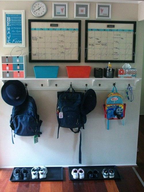 24 Back to School Organization Ideas - DIY Back to School Zone