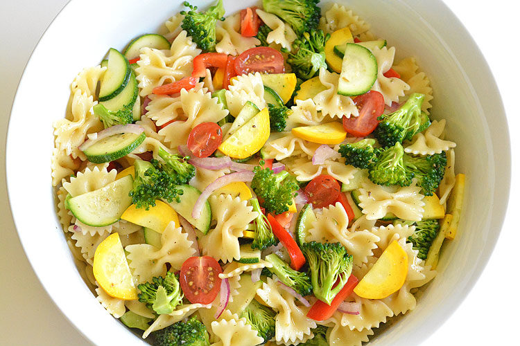 Garden Vegetable Pasta Salad Recipe