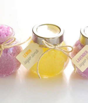 Homemade Sugar Scrub | Lemon and Lavender Lemon Sugar Scrub