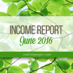 Traffic and Income Report: June 2016
