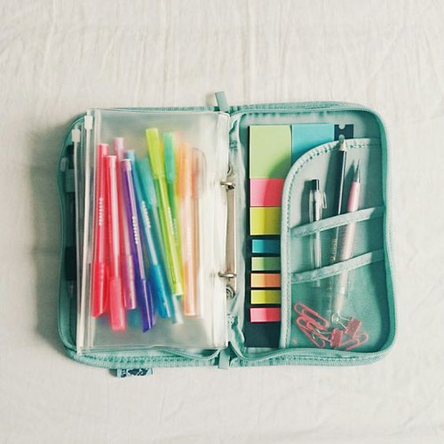 24 Back to School Organization Ideas - Mini School Supply Organizer