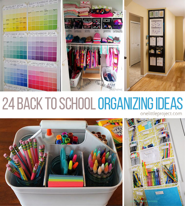 These back to school organization ideas make the perfectionist in me so  happy! There are