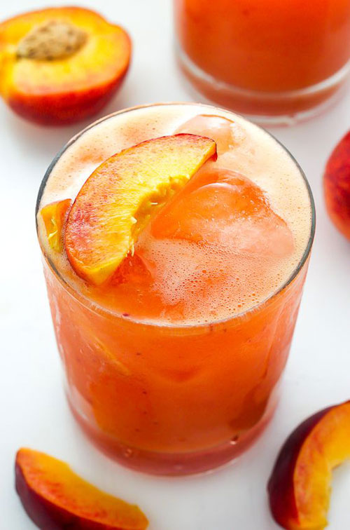 50+ Best Peach Recipes - Fresh Peach Margaritas