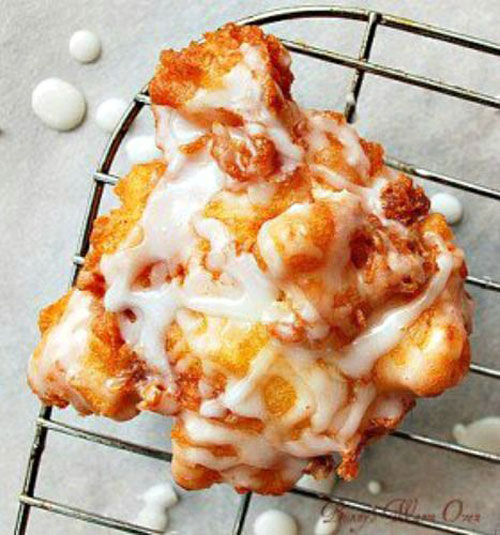 50+ Best Peach Recipes - Peach Fritters