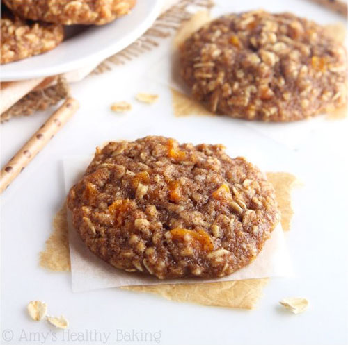 50+ Best Peach Recipes - Peach Pie Oatmeal Cookies
