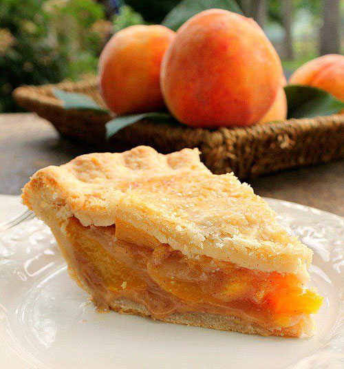 50+ Best Peach Recipes - Peach Pie