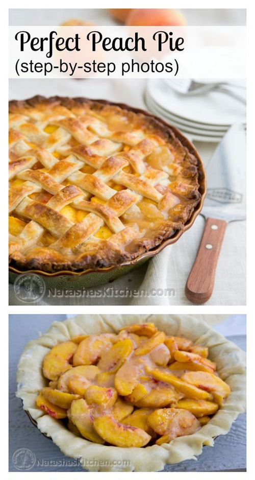 50+ Best Peach Recipes - Perfect Peach Pie
