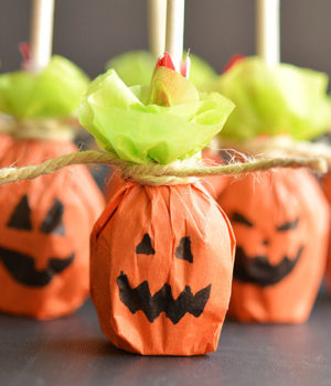 Pumpkin Lolly Pops