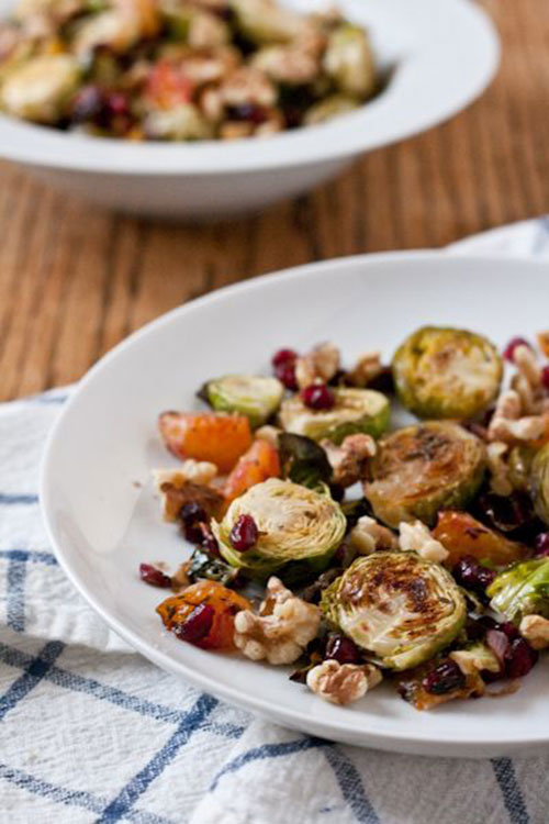 50+ Best Recipes for Fresh Clementines - Brussel Sprouts with Clementines