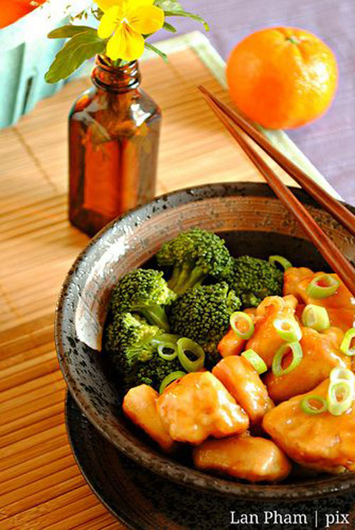 50+ Best Recipes for Fresh Clementines - Clementine Chicken and Broccoli