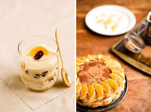 50+ Best Recipes for Fresh Clementines - Clementine Tiramisu