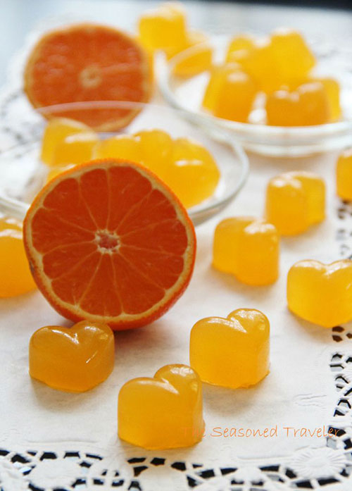 50+ Best Recipes for Fresh Clementines - Clementine and Elderflower Jellies