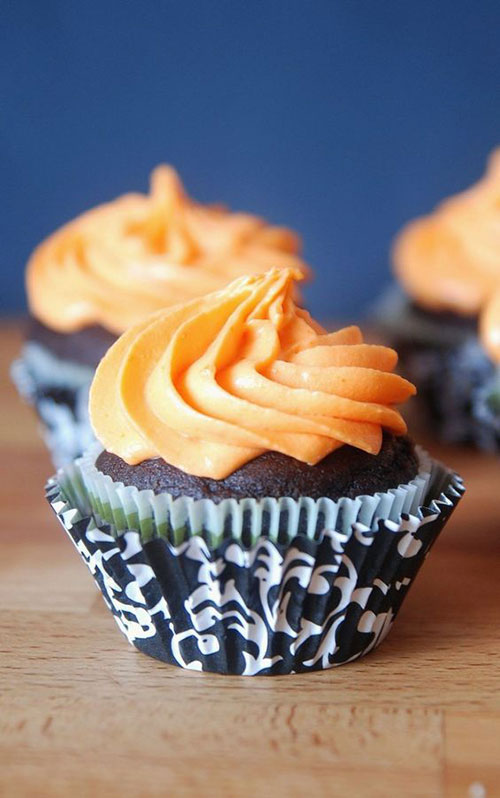50+ Best Recipes for Fresh Clementines - Cupcakes with Clementine Cream Cheese Frosting