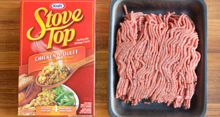3 Ingredient Meat Loaf - Easiest Meat Loaf Ever!