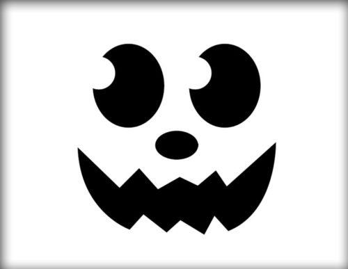 Free Printable Pumpkin Carving Template pdf 3