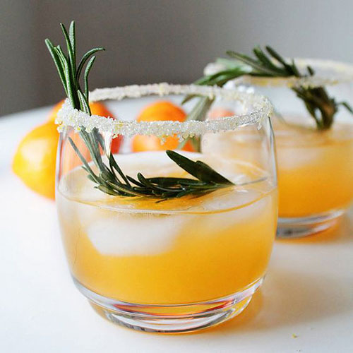 50+ Best Recipes for Fresh Clementines - Winter Clementine Cocktail