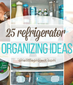 25 Tips and Tricks to Organize your Fridge