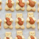 The CUTEST Teddy Bear Cookies